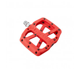 E Thirteen Base Flat Pedal Composite Red