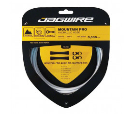 Jagwire Mountain Pro Hydraulic Hose Kit White