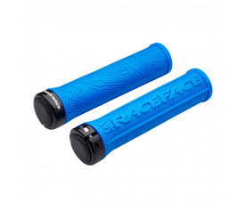 Race Face Half Nelson Lock On Grips Blue