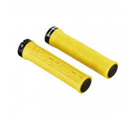 Race Face Half Nelson Lock On Grips Yellow