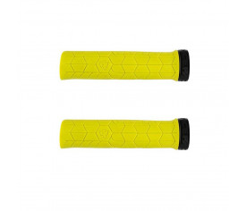 Race Face Getta Grips 30mm Yellow/Black