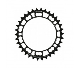 Rotor Chainring Q BCD110X5 Inner Black 36t