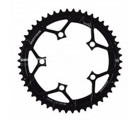 Rotor Chainring 52T BCD110X5 Outer Black