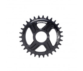 Rotor Chainring Hawk&Raptor Direct Mount no Qring Black 30t